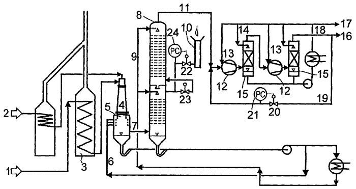Способ получения ацетилена путем частичного окисления углеводородов