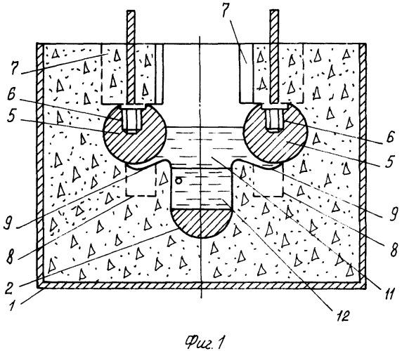 Электролизер для рафинирования свинца в расплаве солей