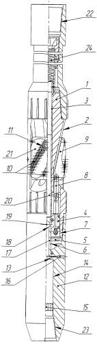 Калибратор ствола скважины раздвижной
