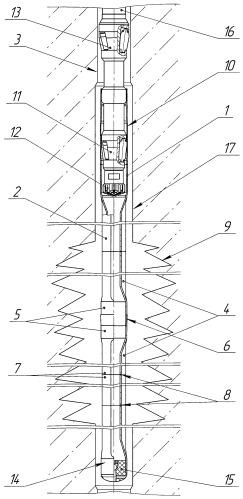 Способ изоляции зон осложнений в скважине профильным перекрывателем