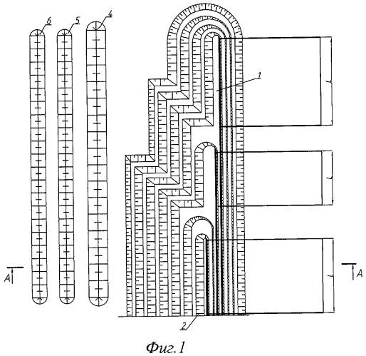 Комплексный способ разработки свит пологих пластов месторождений