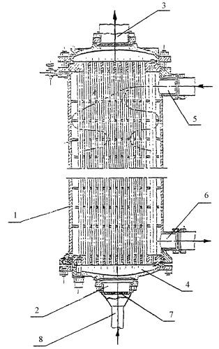 Устройство для охлаждения судовых двигателей внутреннего сгорания