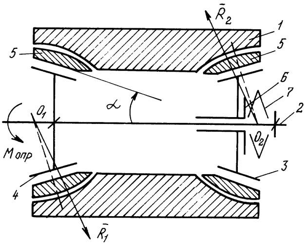 Подшипниковый узел для восприятия опрокидывающего момента