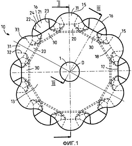 Цепное колесо для цепных приводов