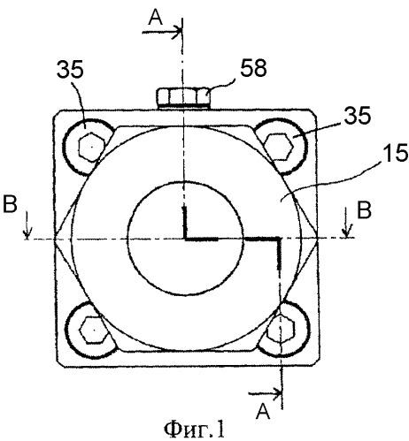 Герметичное фланцевое соединение для каналов газа высокой чистоты и высокого давления
