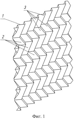 Лист оросителя шевронной структуры и блок оросителя градирни (варианты)