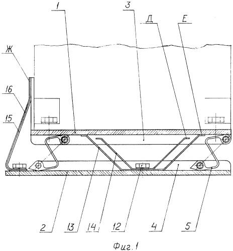 Амортизирующее устройство навигационного прибора артиллерийского орудия