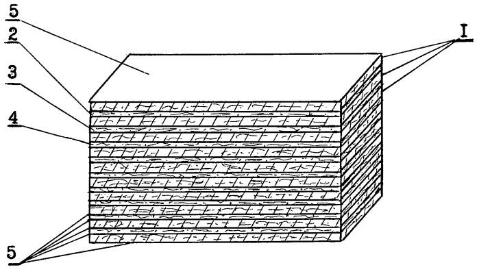 Слоистый нановолоконный материал для бронежилета