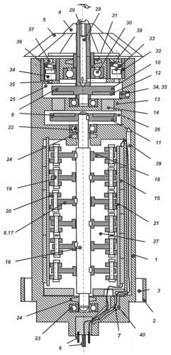 Электрогенератор питания забойной телеметрической системы