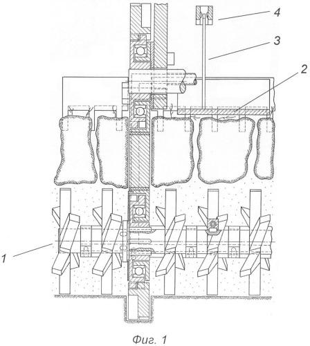 Устройство для управления глубиной обработки почвы фронтальным ротационным внутрипочвенным рыхлителем в агрегате с трактором с электрическим управлением гидравлическим распределителем навесной системы