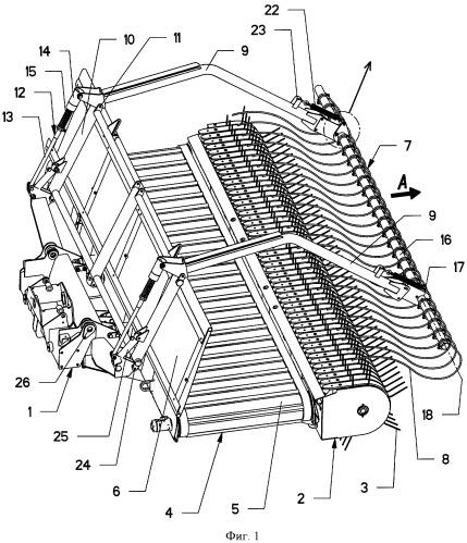 Сельскохозяйственная машина для уборки зеленых кормов