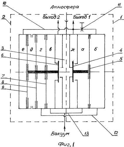 Пневматический пульсатор для доильных установок