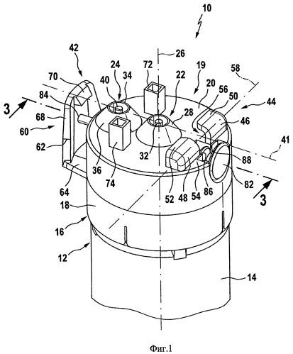 Фильтрующее устройство и держатель фильтра для устройства подачи воды, а также устройство подачи воды, по меньшей мере, с одним фильтрующим устройством и, по меньшей мере, с одним держателем фильтра
