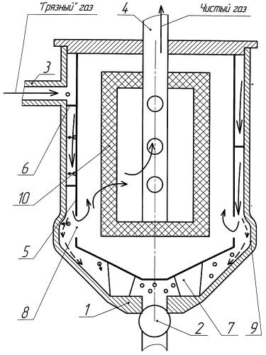 Устройство для отделения частиц жидкости из газожидкостного потока