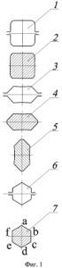 Способ прокатки шестигранных прутков