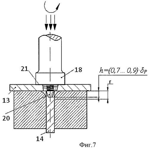 Способ сварки трением с перемешиванием тавровых соединений и инструмент для его осуществления