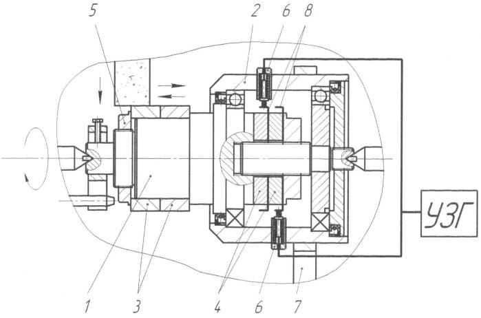 Способ круглого наружного шлифования с наложением ультразвуковых колебаний