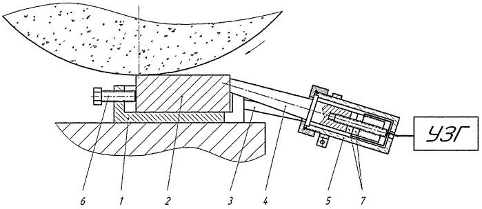 Способ плоского шлифования с наложением ультразвуковых колебаний
