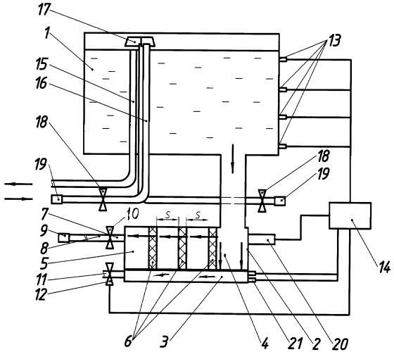 Система водоснабжения пассажирского железнодорожного вагона
