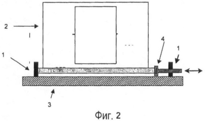 Стопорное устройство для крепления в летательном аппарате контейнеров и способ их крепления