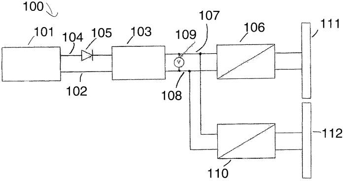 Система электропитания для электроснабжения по меньшей мере одного потребителя на летательном аппарате