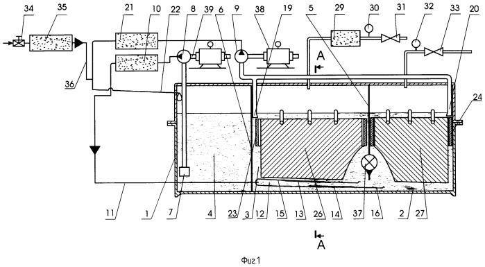 Электролизер для получения водорода и кислорода электролизом водного раствора электролита