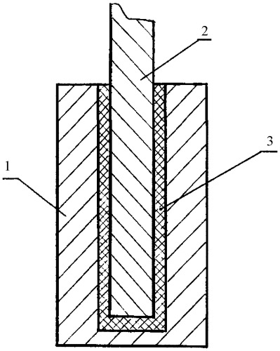 Электрический контактный узел инертного анода для получения алюминия в солевом расплаве и способ его монтажа