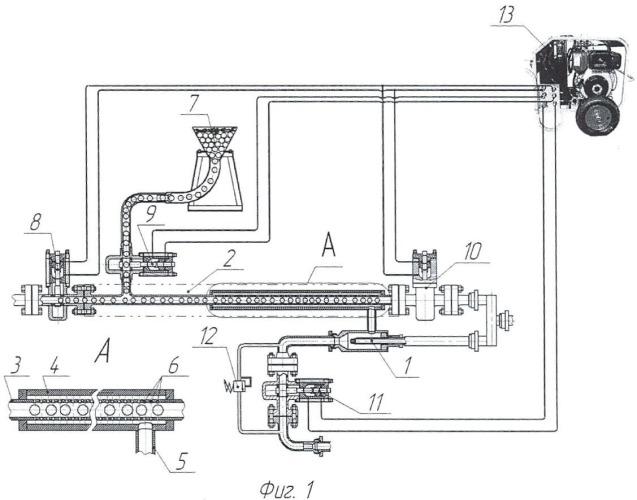 Установка для непрерывного устьевого и скважинного тампонирования