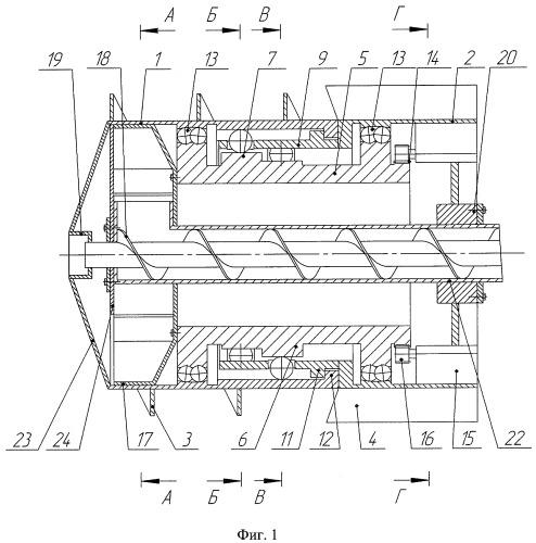 Проходческий щитовой агрегат (геоход)