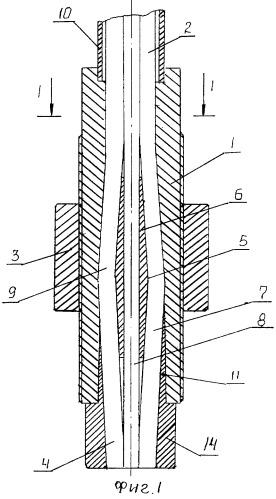 Натяжное устройство канатного анкера