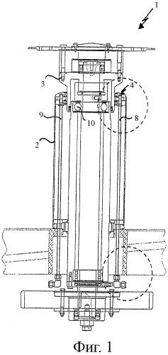 Уплотнительное устройство для механизма вращающейся опоры