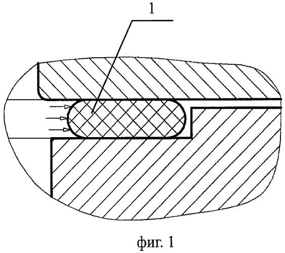Прокладка из упругого материала и способ ее изготовления