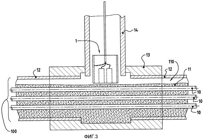 Способ и датчик для определения пассивирующих свойств смеси, содержащей по меньшей мере два компонента, которыми являются цемент и вода