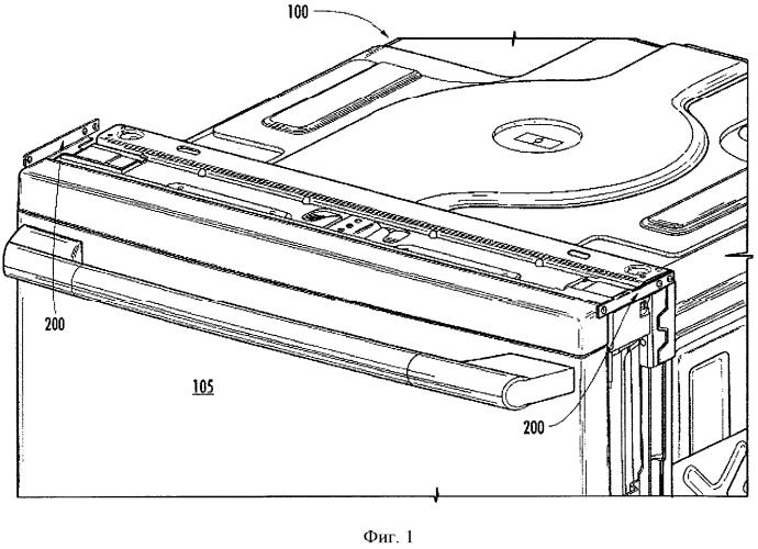 Система и способ для монтажа посудомоечной машины под столешницей