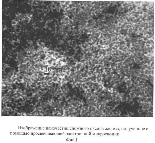 Магнитно-резонансное и рентгеновское контрастное средство на основе сложного оксида железа и способ его получения