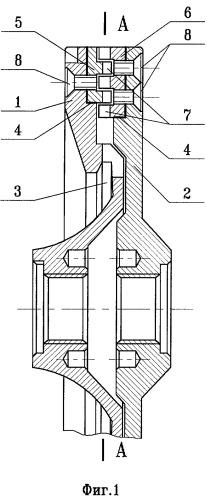 Конструкция ротора дезинтегратора