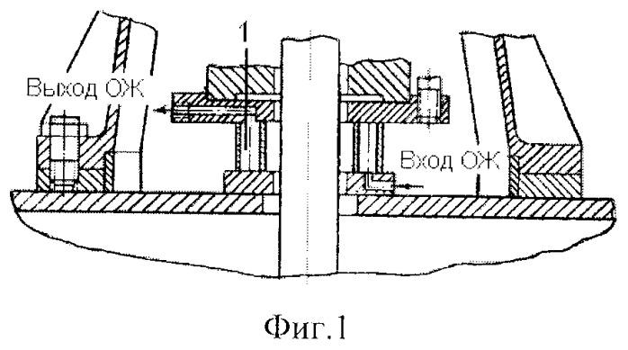 Система подачи охлаждающей жидкости к предохранительному уплотнению