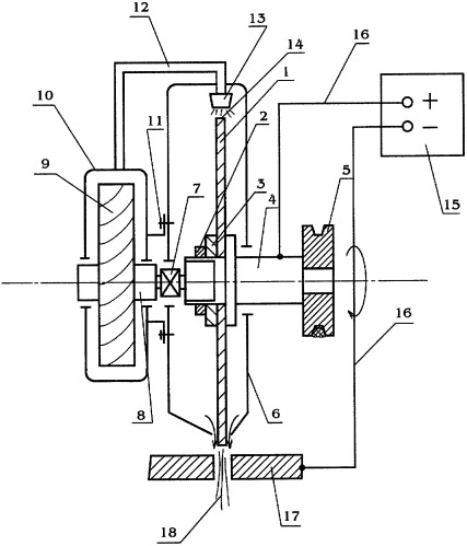 Устройство для электродуговой порезки металла
