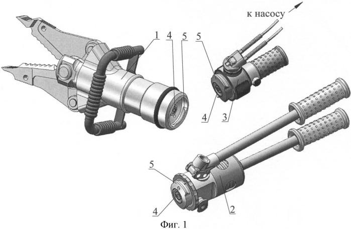 Модульный гидроинструмент