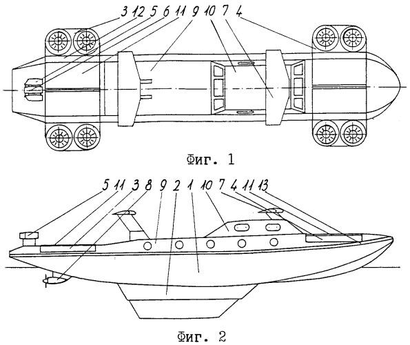 """Водно-воздушное транспортное средство """"аквалёт"""", безмачтовый парус, устройство управления парусом"""