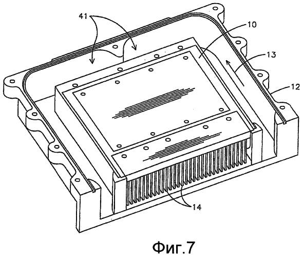 Усовершенствованный узел радиатора