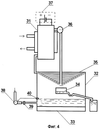 Способ бесконтактной электрохимической активации водосодержащей жидкости и устройство для его осуществления (варианты)