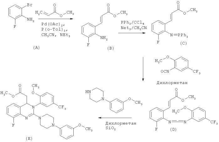 Способ получения дигидрохиназолинов