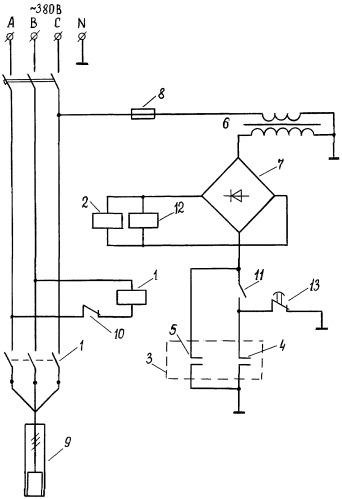 Устройство автоматического управления погружным электронасосом