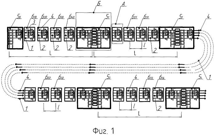 Способ опорожнения участков трубопровода от газа в многониточных системах магистральных газопроводов