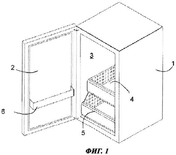 Телескопический выдвижной механизм для холодильного аппарата