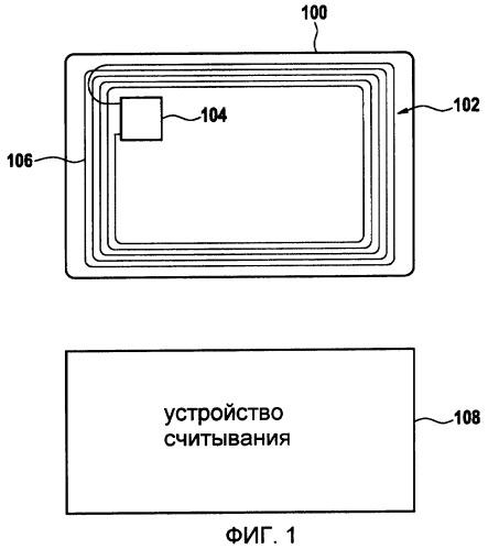 Документ с электронным прибором