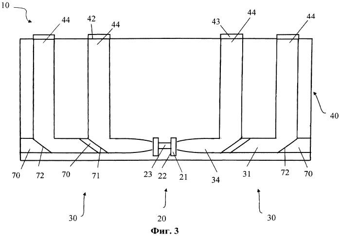 Диодный источник многолучевого когерентного лазерного излучения (варианты)