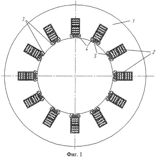 Магнитопровод статора электрической машины