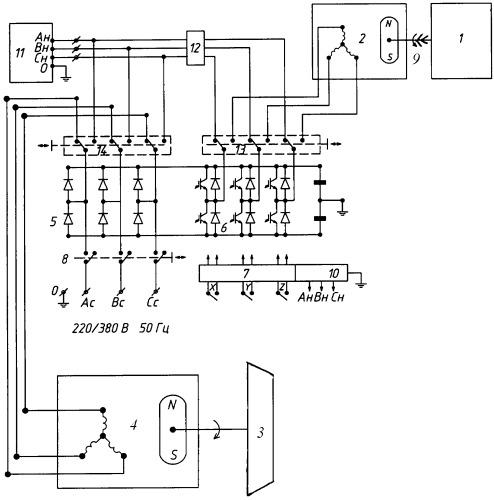 Электроэнергетическая установка